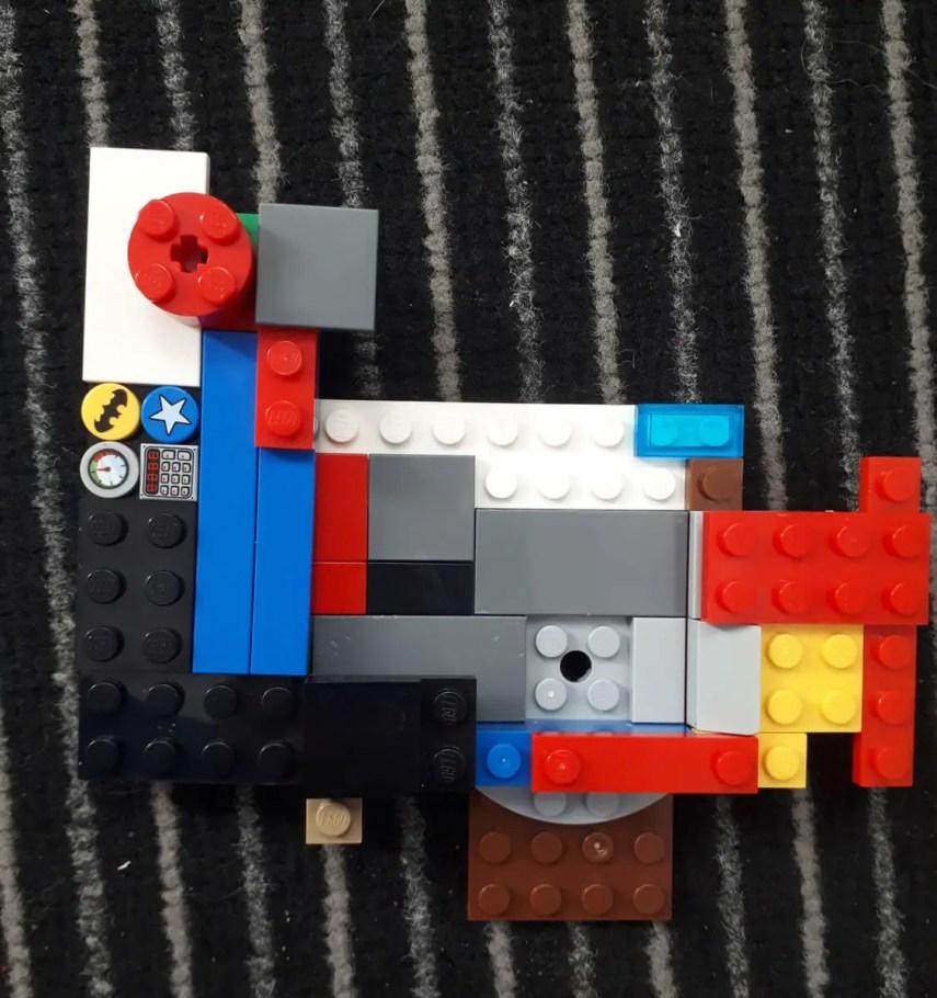 35mm LEGO Pinhole shutter open