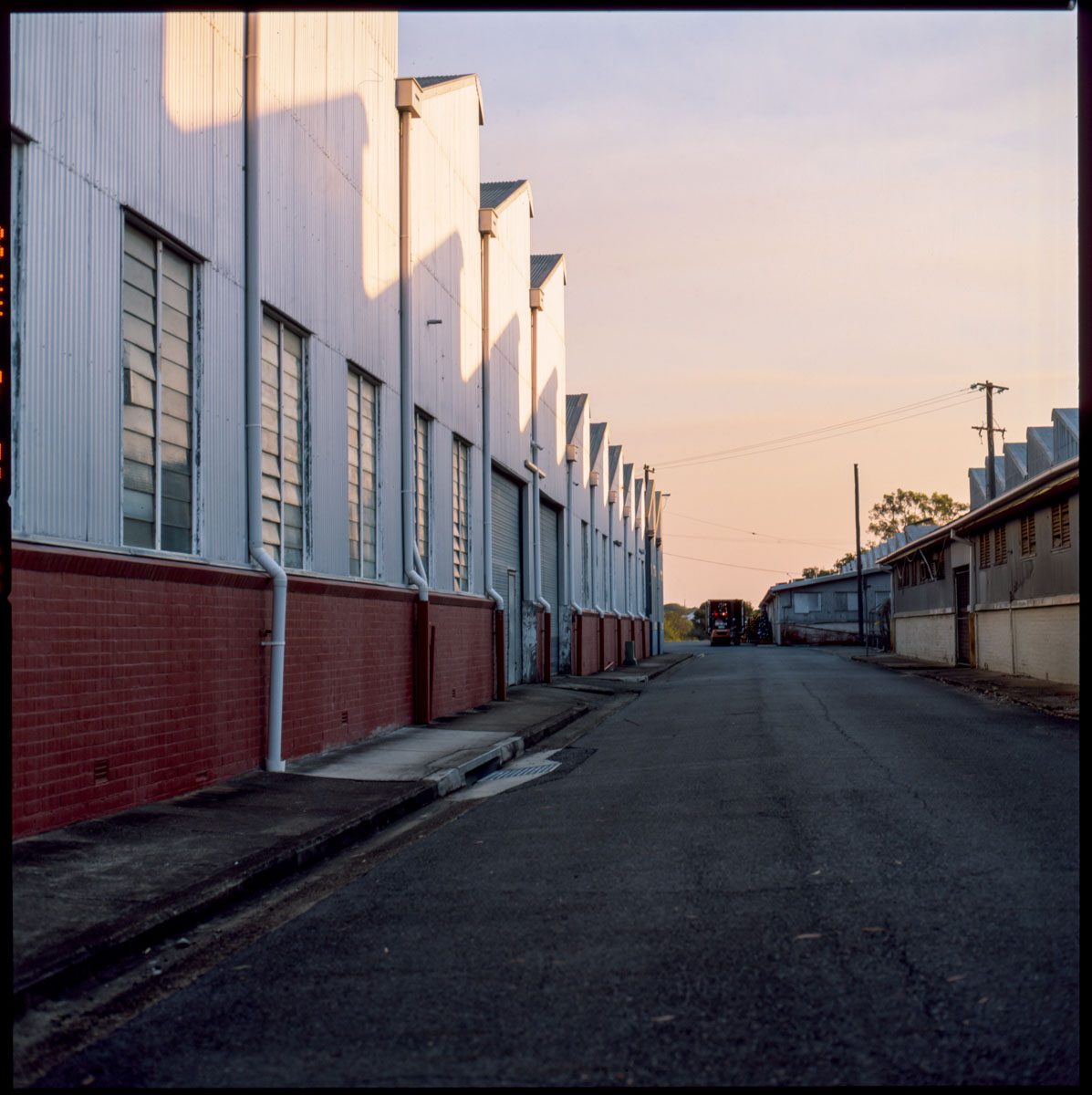 5 Frames... At an abandoned warehouse on Fujifilm Velvia 50 RVP (EI 50 / 120 format / Hasselblad 503CXi) - by Chris Dixon)