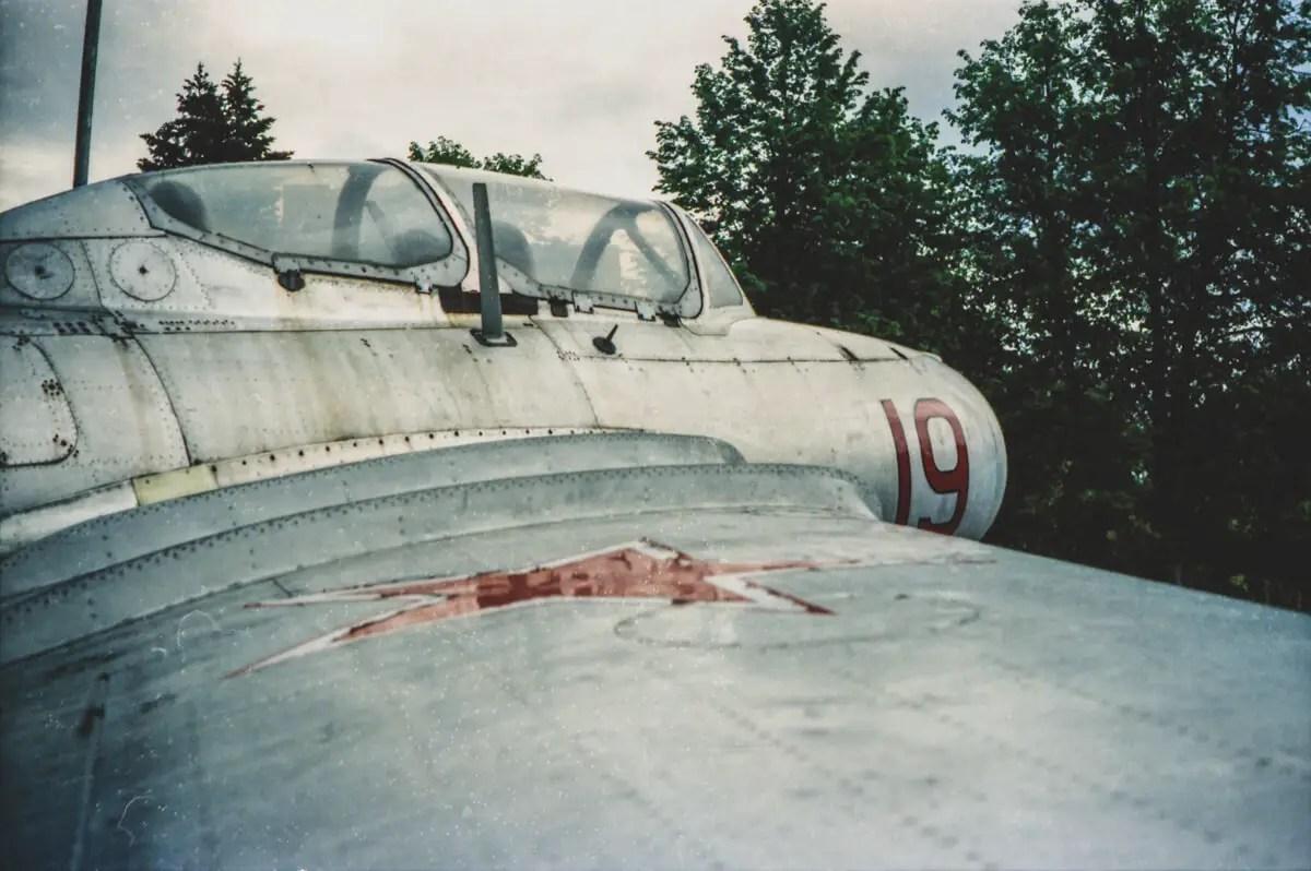 Adib - SFL Kodak VISION3 500T - (GCTC) A replica of the plane which crashed, ending Yuri Gagarin's life in 1968