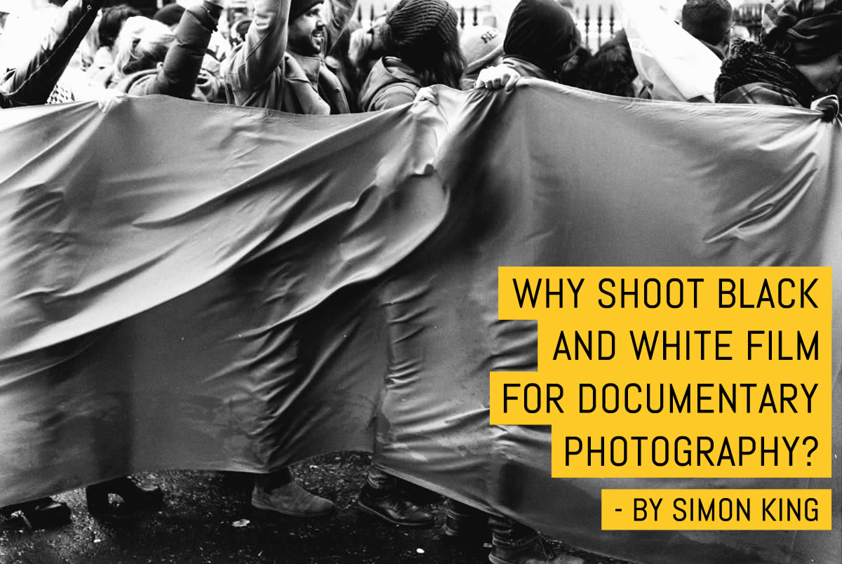 Why shoot black and white film for documentary photography?
