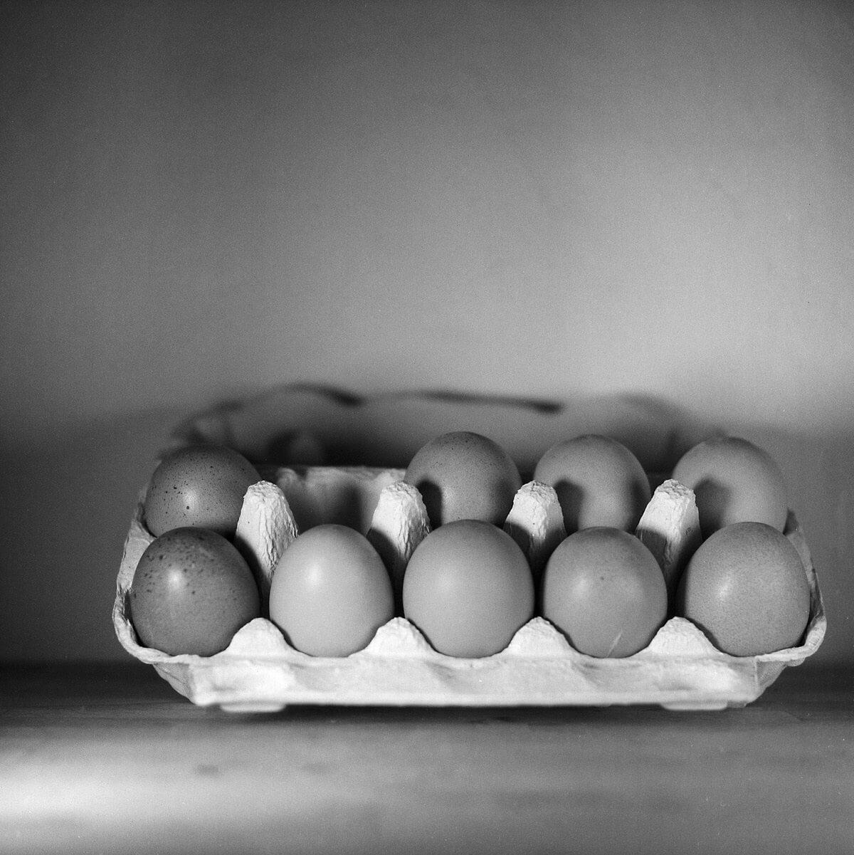 Eggs #1 – Still Life Photography - Yashica MAT-124 with Fomapan 200 Creative