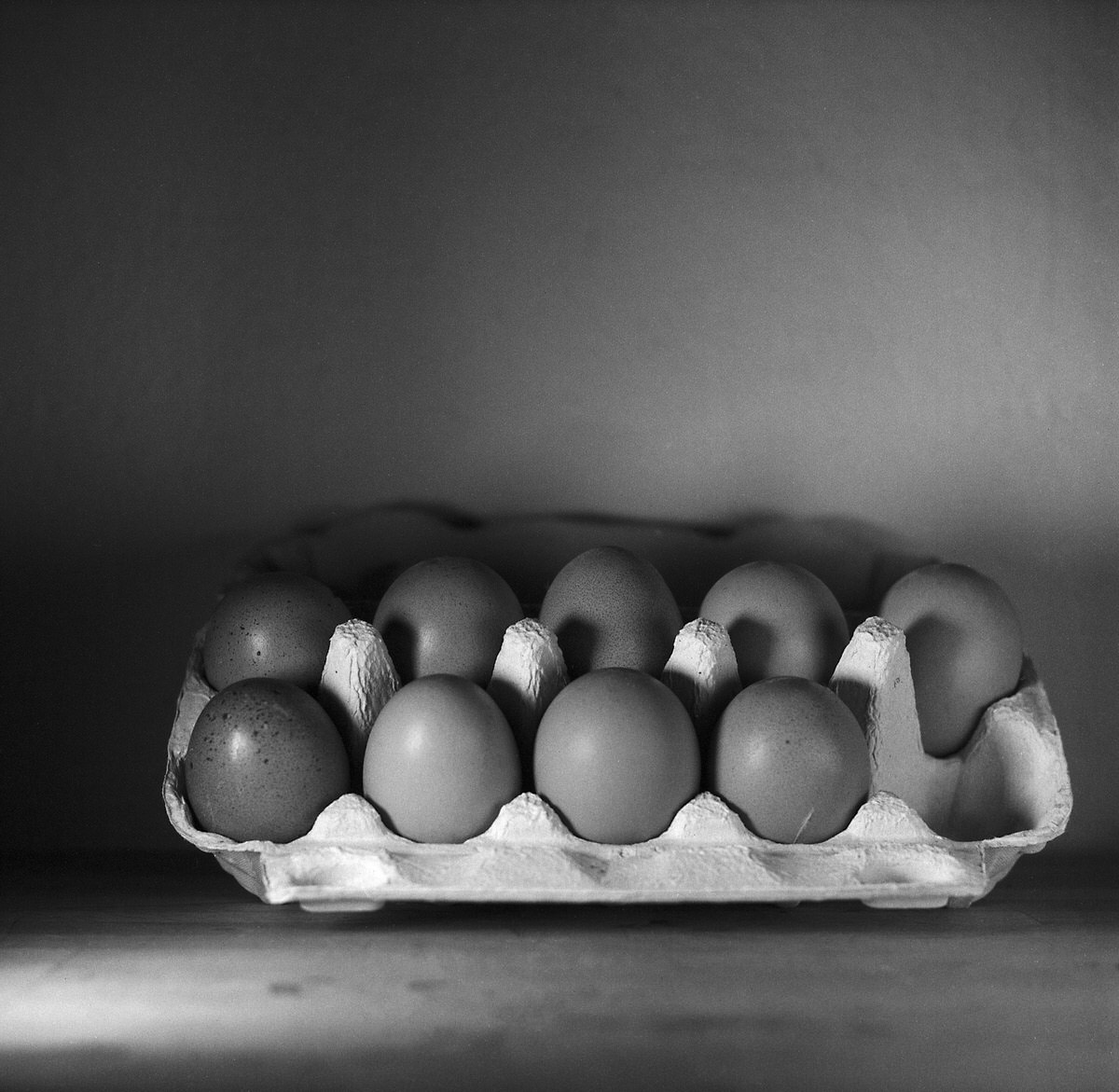 Eggs #2 – Still Life Photography - Yashica MAT-124 with Fomapan 200 Creative