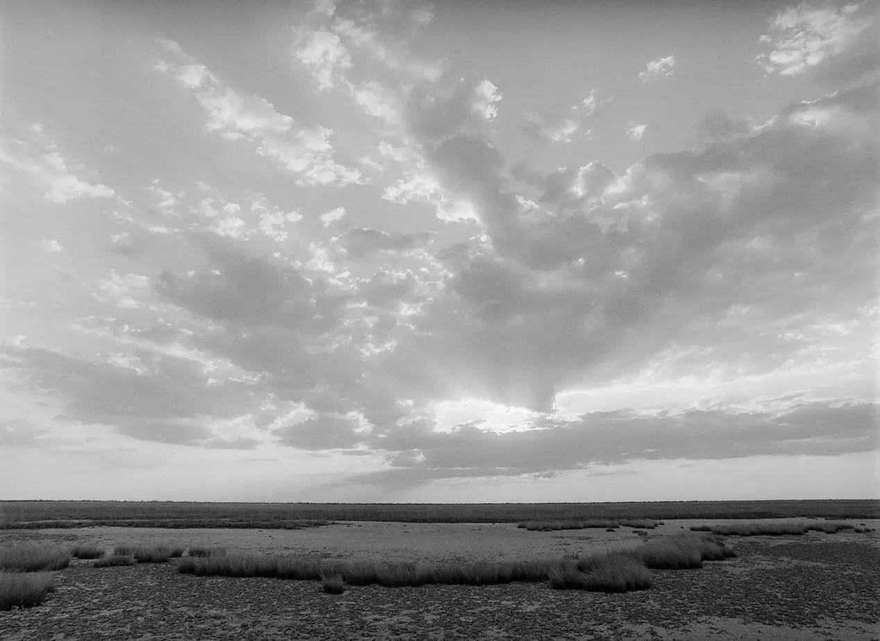 Kalahari Sunset, Botswana - ILFORD HP5 PLUS in Pyro PMK. Pentax 67II 45mm