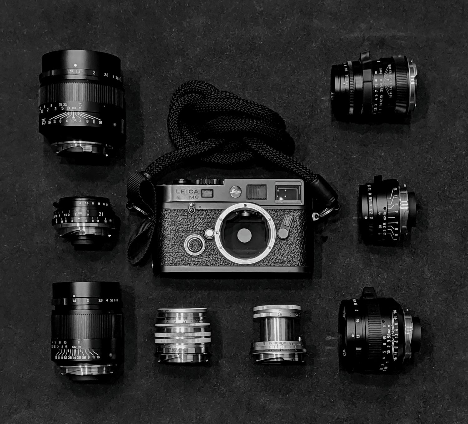 Leica M6 and lens collection