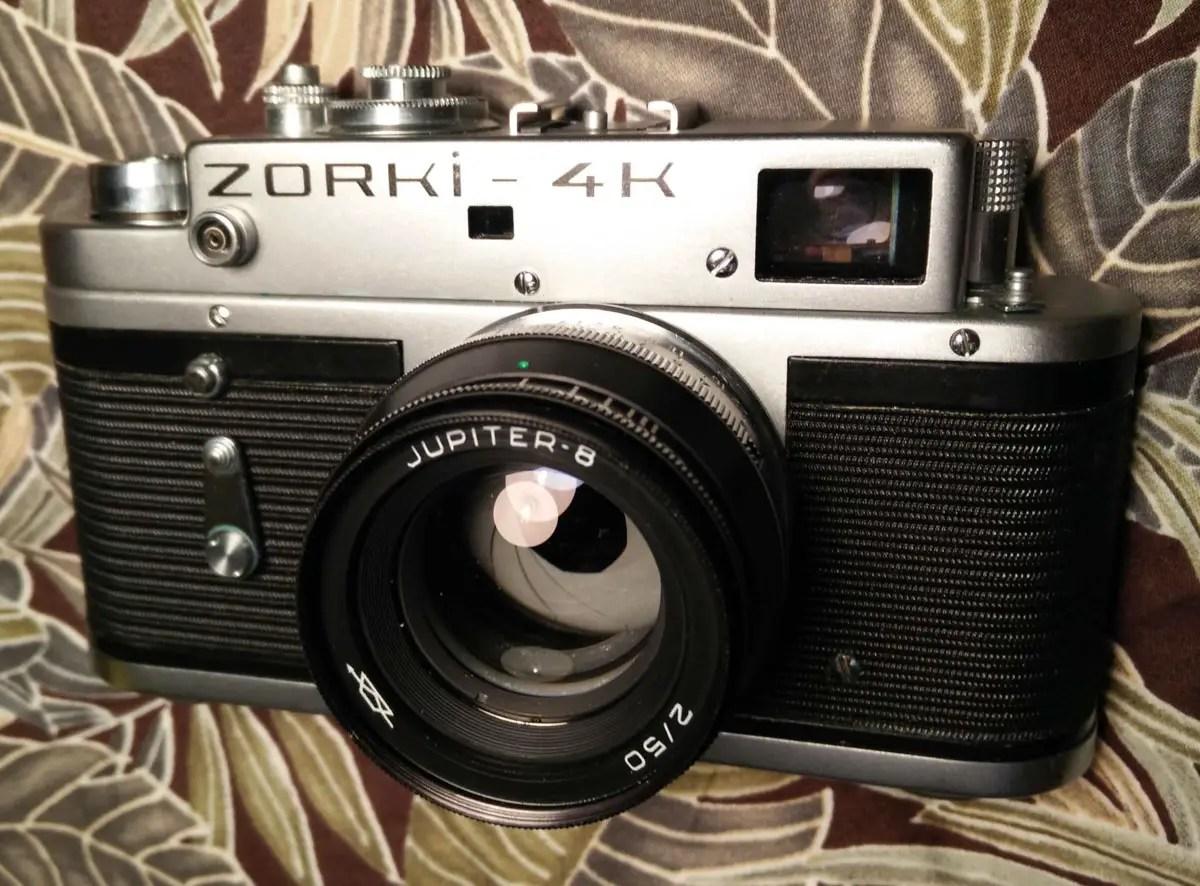 My Zorki 4K and Jupiter 8 lens