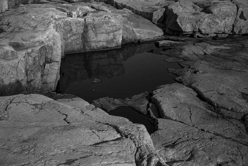 Schoodic Point, Acadia NP, 2019 - Fuji GW 690II ILFORD HP5 PLUS