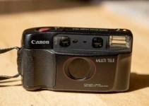 72 frames per roll: The surprisingly sharp Canon SURE SHOT MULTI TELE
