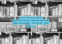 An on-the-cheap private investigation into European BW films: ORWO or Kentmere, to be or not to be?