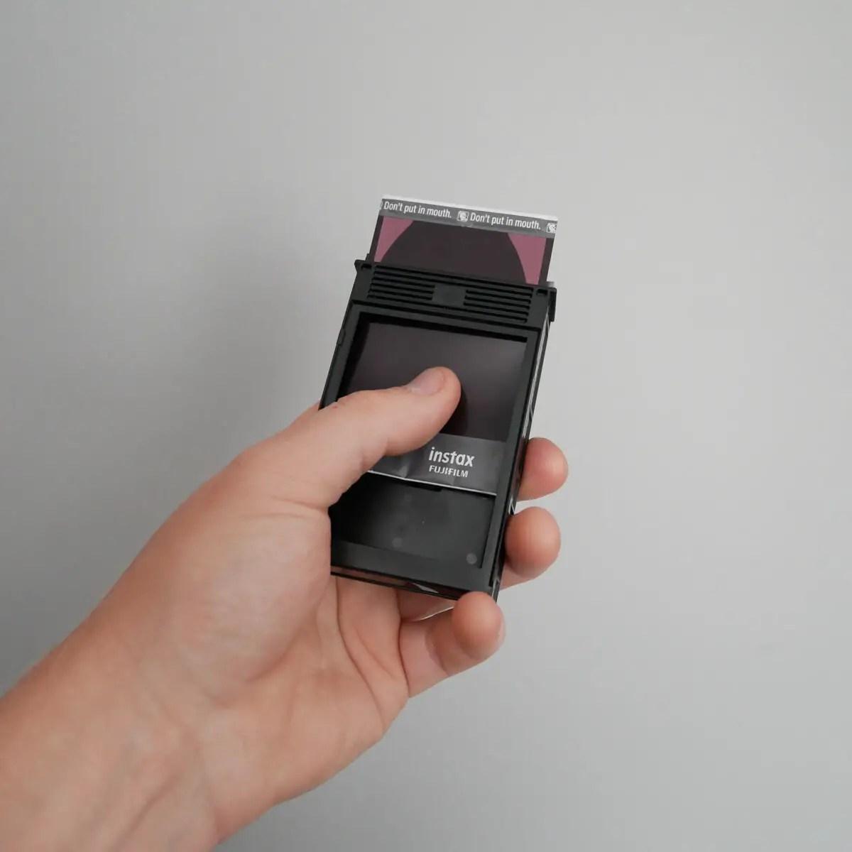 Extraction 3 - Fujifilm Instax Mini in a 35mm camera