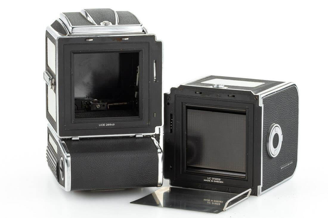 Leitz Photographica Auction - Hasselblad 500 ELM cut-away (rear + film magazine) Images copyright