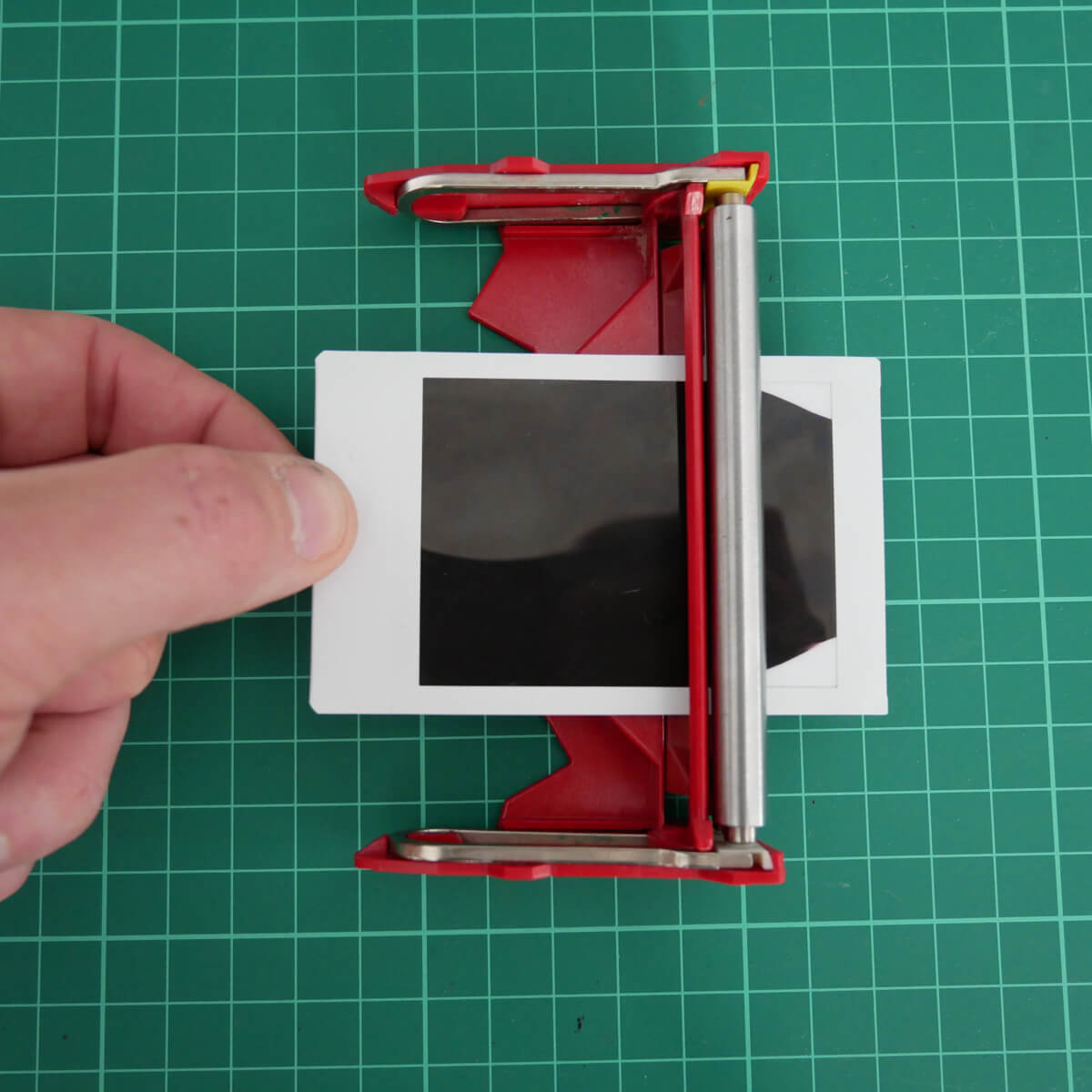 Pull - Fujifilm Instax Mini in a 35mm camera