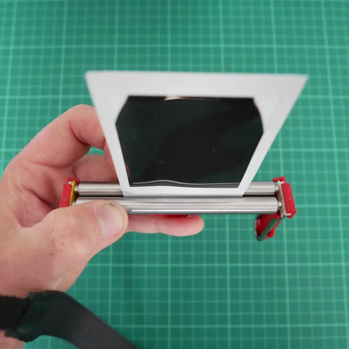 Squeeze - Fujifilm Instax Mini in a 35mm camera