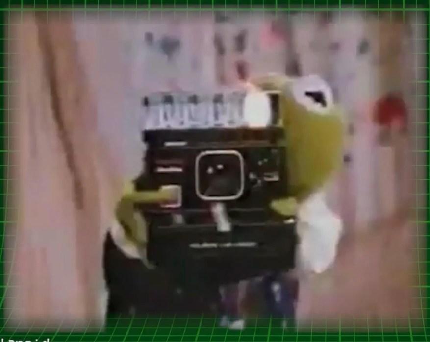 Celebs selling Polaroids - Time Zero One Step Camera