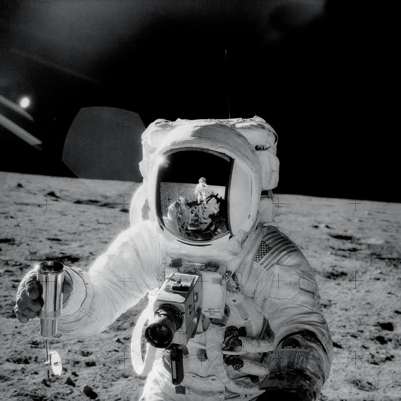 Apollo 12, Alan Bean - Original - Before remastering