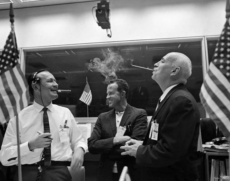 Gemini 7 1st rendezvous celebration - Original - Andy Saunders