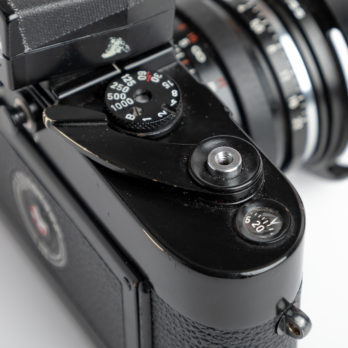 Leica M3 - Top plate detail