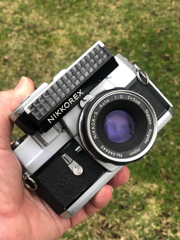 My Nikkorex loaded with Kodak Max 400 - Tom Northenscold