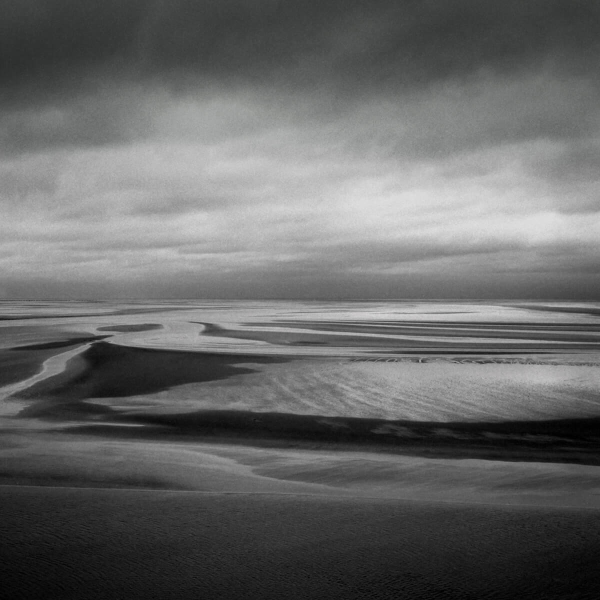 Bay of Mont Saint-Michel - Bronica SQ-A with 80mm lens, Arista EDU 100 (Fomapan)