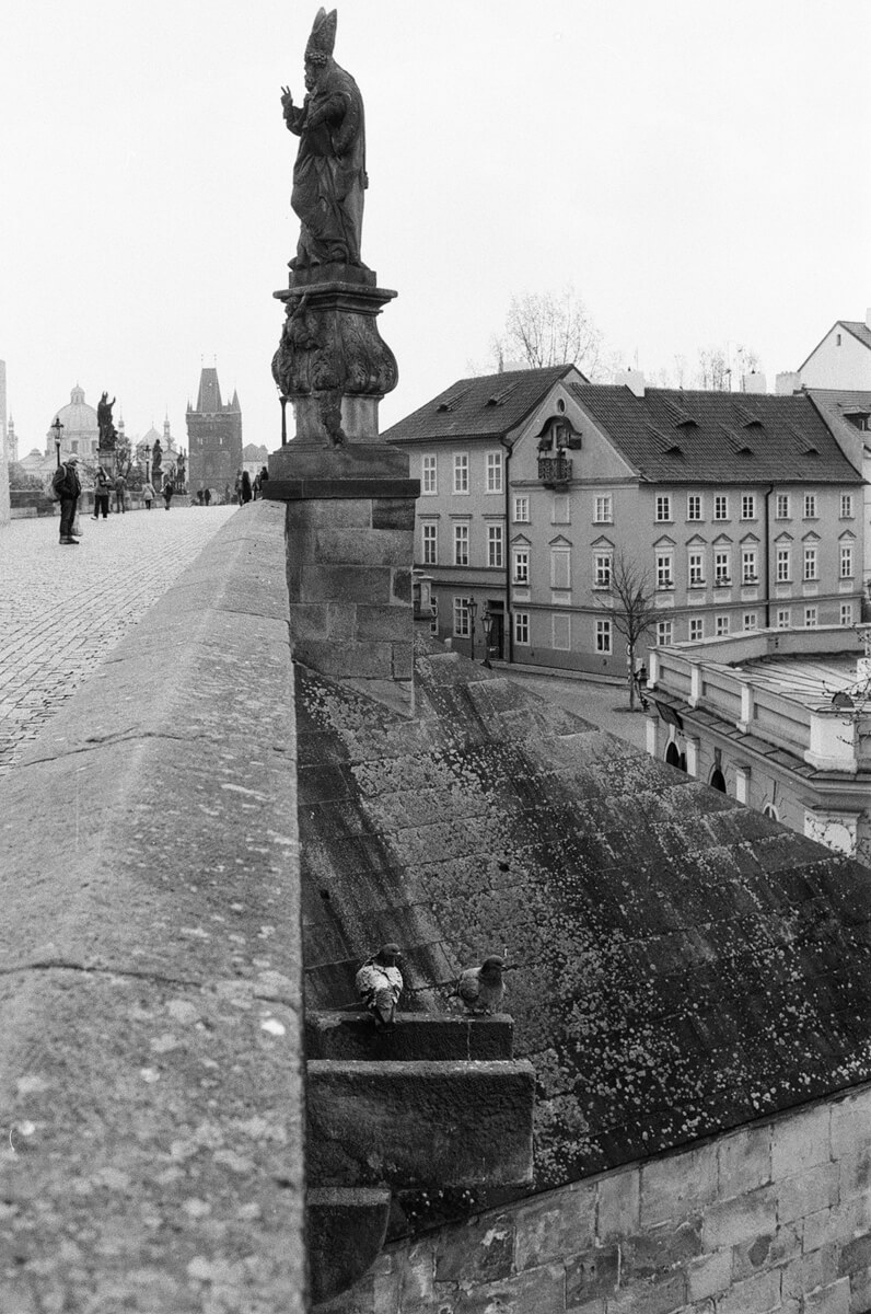 5 Frames... Of Prague on ILFORD FP4 PLUS with my new Nikkormat FT2 (EI 125 / 35mm Format) - by Matt Sandiford
