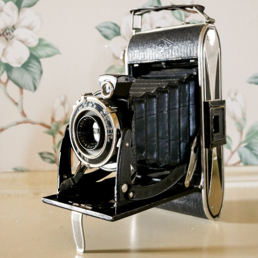 My father-in-law's 80 year-old Agfa Billy Record I, Barry Altman