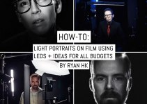 How-to: Light portraits on film using LEDs + ideas for all budgets
