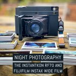 Night photography with the MiNT Camera Instantkon RF70 and Fujifilm Instax Wide film