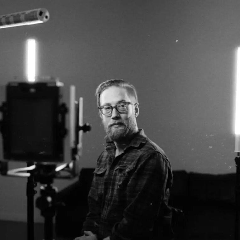 Kelly - Behind the scenes (Leica M4-2)