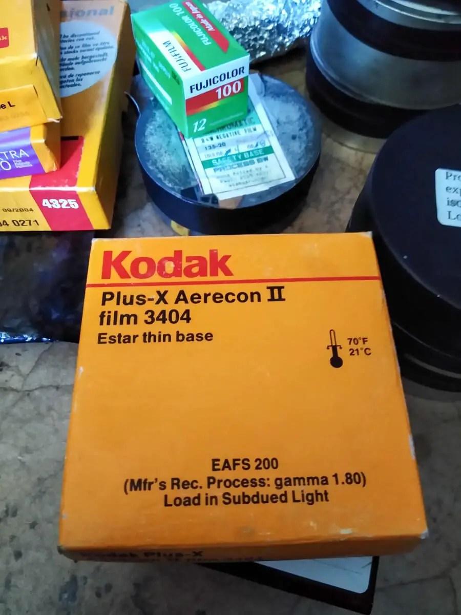 Kodak Plus-X Aerecon II 3404, James Harr