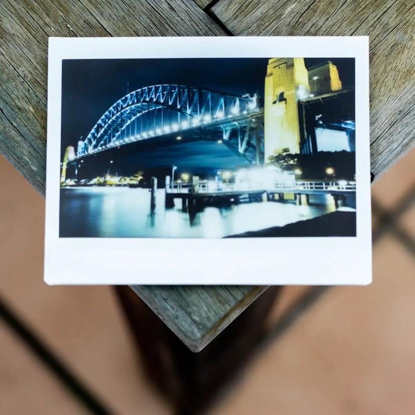 MiNT Instakon RF70 + Fujifilm Instax Wide - Bridge and Wharf