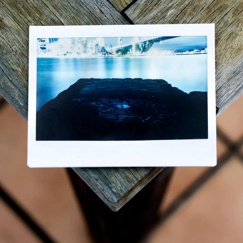 MiNT Instakon RF70 + Fujifilm Instax Wide - Stone Peir