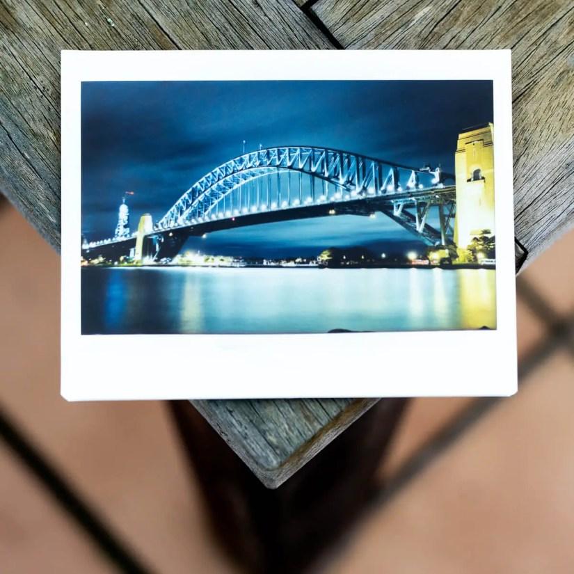 MiNT Instakon RF70 + Fujifilm Instax Wide - Sydney Harbour Bridge