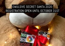 EMULSIVE Secret Santa 2020: registration open until October 31st