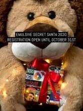 EMULSIVE SECRET SANTA 2020: REGISTRATION OPEN UNTIL OCTOBER 31ST