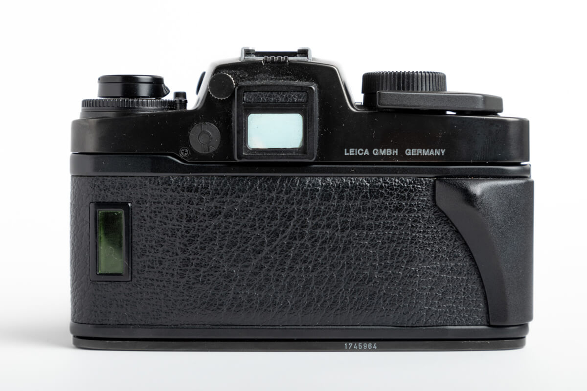 Leica R6 rear - Alexander Laurent