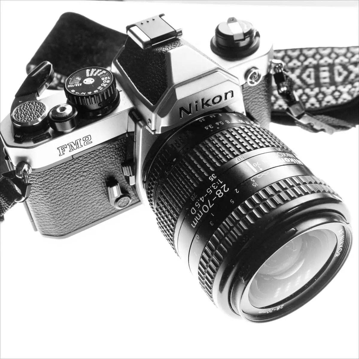 MY Nikon FM2n and Nikkor AF 28-70mm f:3.5-4.5D, David Whenham