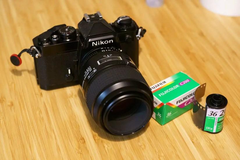 My Nikon FE and Nikon AF Micro-Nikkor 105mm f:2.8 D, Clemens