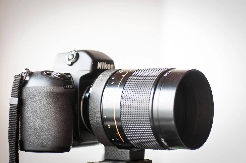 Nikon 500mm f/8 Reflex-NIKKOR and Nikon F100