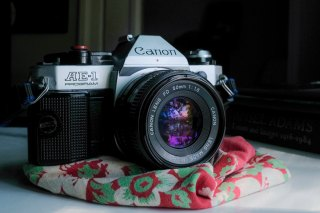 My Canon AE-1 Program and Canon FD 50mm f/1.8, Ned Goldman