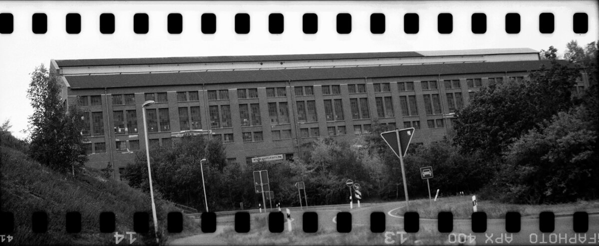 5 Frames... Of 35mm film in a Russian 6x9 camera and Agfaphoto APX 400 (35mm Format / EI 200 / KMZ Moskva-2 + Industar-23 110mm f/4.5) by Martin Nauhaus