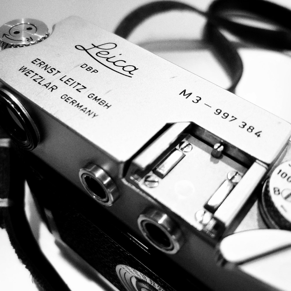 Leica M3 - Top plate