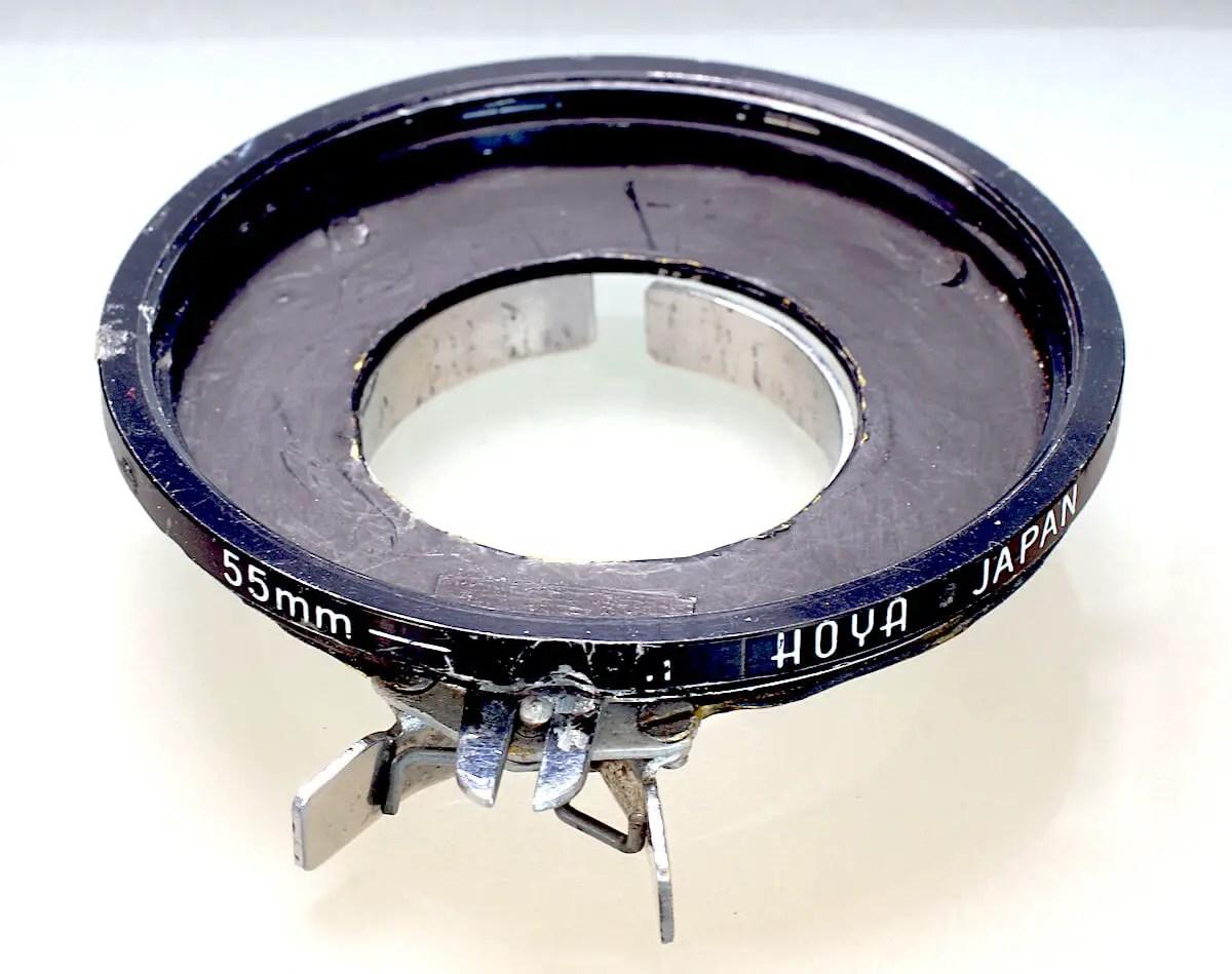 55mm Hoya Clip-on filters