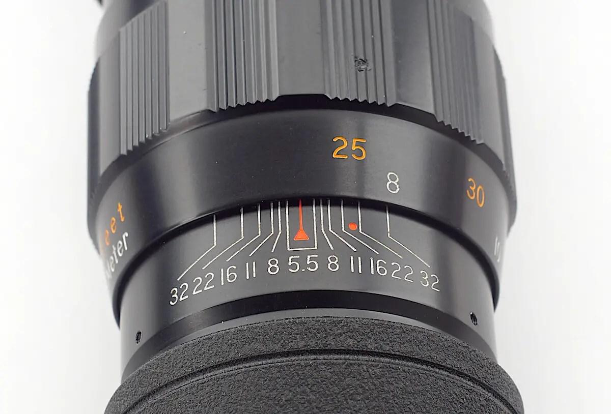 IR mark 300mm lens