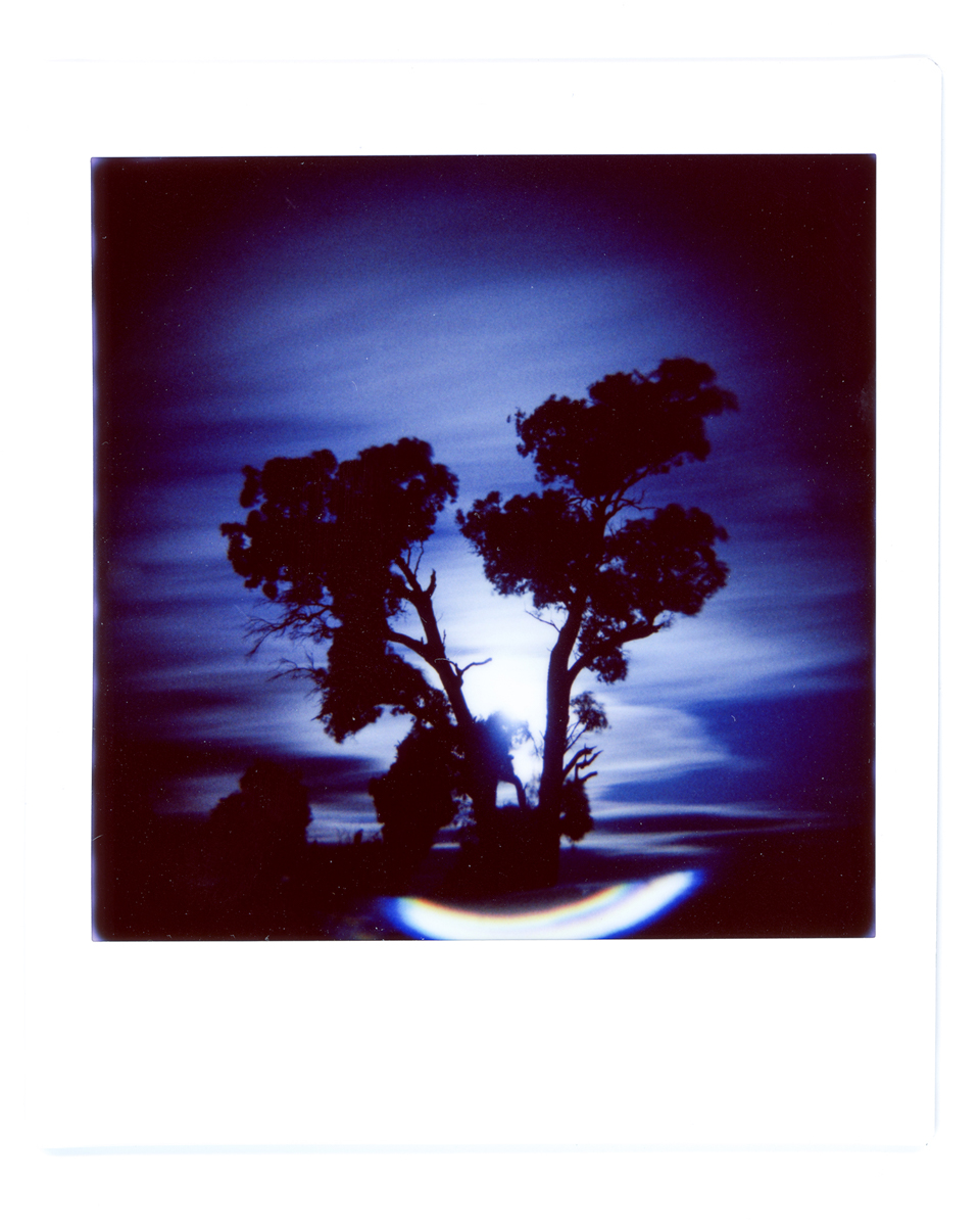 Moon Rise - Lomography Diana Instant Square and Fujifilm Instant Square film
