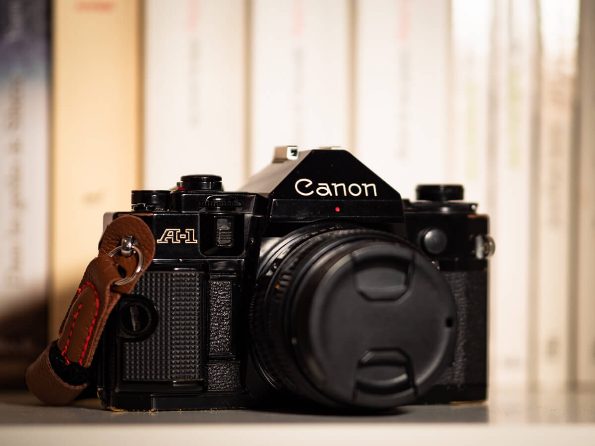 My Canon A-1 and Canon FD 50mm f/1.8, by Ulysse Daessle