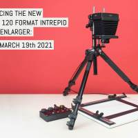 Announcing the new 35mm & 120 format Intrepid colour Enlarger: coming March 19th 2021