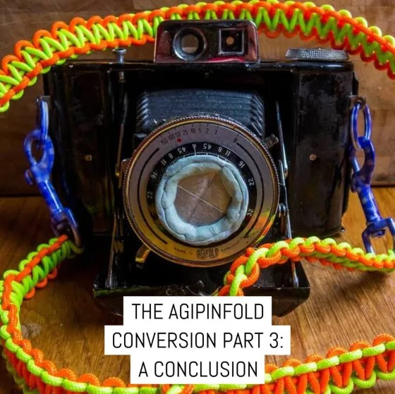The AgiPinFold Pinhole Conversion Part 3: A conclusion