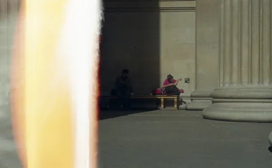 My first roll… Of 35mm film shooting Street (2012, Leica M3 and Fuji Superia 200) – by Jenquest