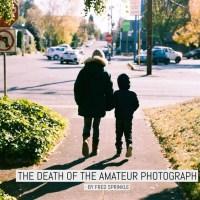 The death of the amateur photograph