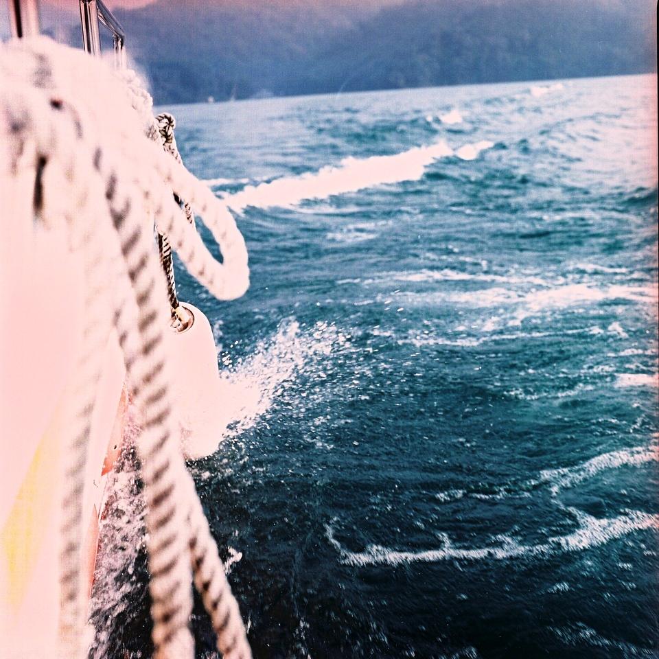 On the ropes - Shot on Fuji Pro 400H (120) | EMULSIVE