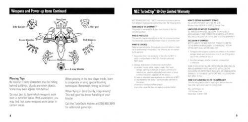 NEC Turbo Grafx-16 Manuals Pack for RocketLauncher